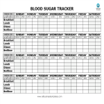 template topic preview image Blood Sugar Tracker