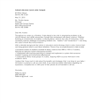 template topic preview image School Librarian Cover Letter Sample