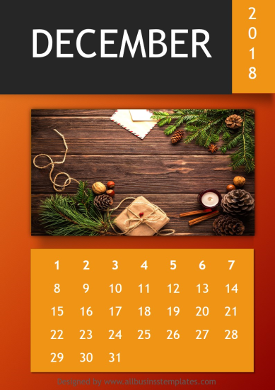 template topic preview image DIY Calendar 2018 Template