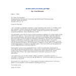 template topic preview image Formal Employment Application Letter