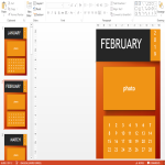 template preview image2019 PowerPoint Calendar