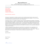 template topic preview image Customer Service Center Cover Letter