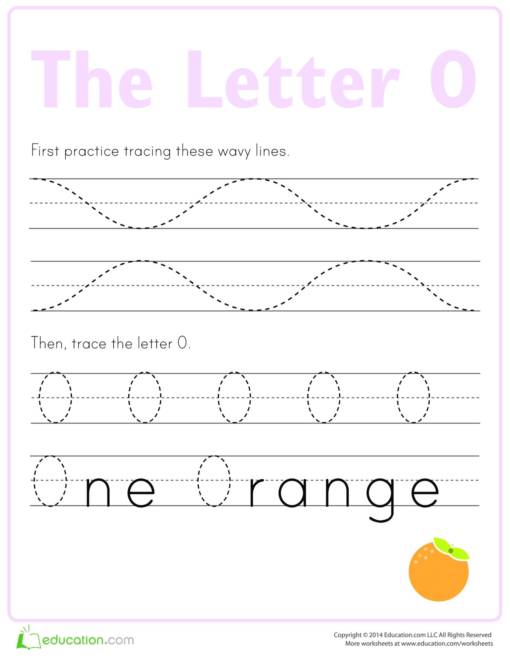 template topic preview image Learn to write letter O