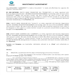 image Company Investment Agreement