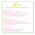 template topic preview image Party Planning Checklist template