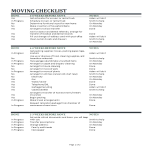 template topic preview image Local Moving Checklist Excel