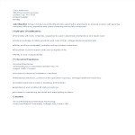 template topic preview image Administrative Assistant CV sample