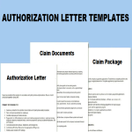 thumbnail topic Authorization Letter To Claim