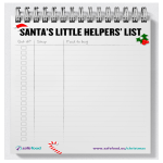 template topic preview image Christmas Food Shopping List