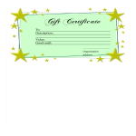 template topic preview image Homemade Gift Certificate template