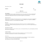 template topic preview image Junior Network Administrator Skills Resume