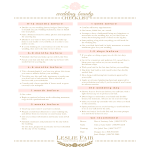 template topic preview image Printable Wedding Beauty Checklist