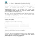 image Equipment Rent Agreement (Rent To Own)