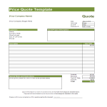 template topic preview image quote template excel spreadsheet