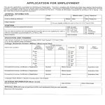 template topic preview image HR Generic Job Application Form