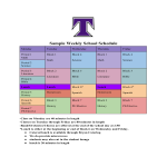 template topic preview image Weekly School Schedule