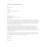 template topic preview image School Teacher Job Application Letter