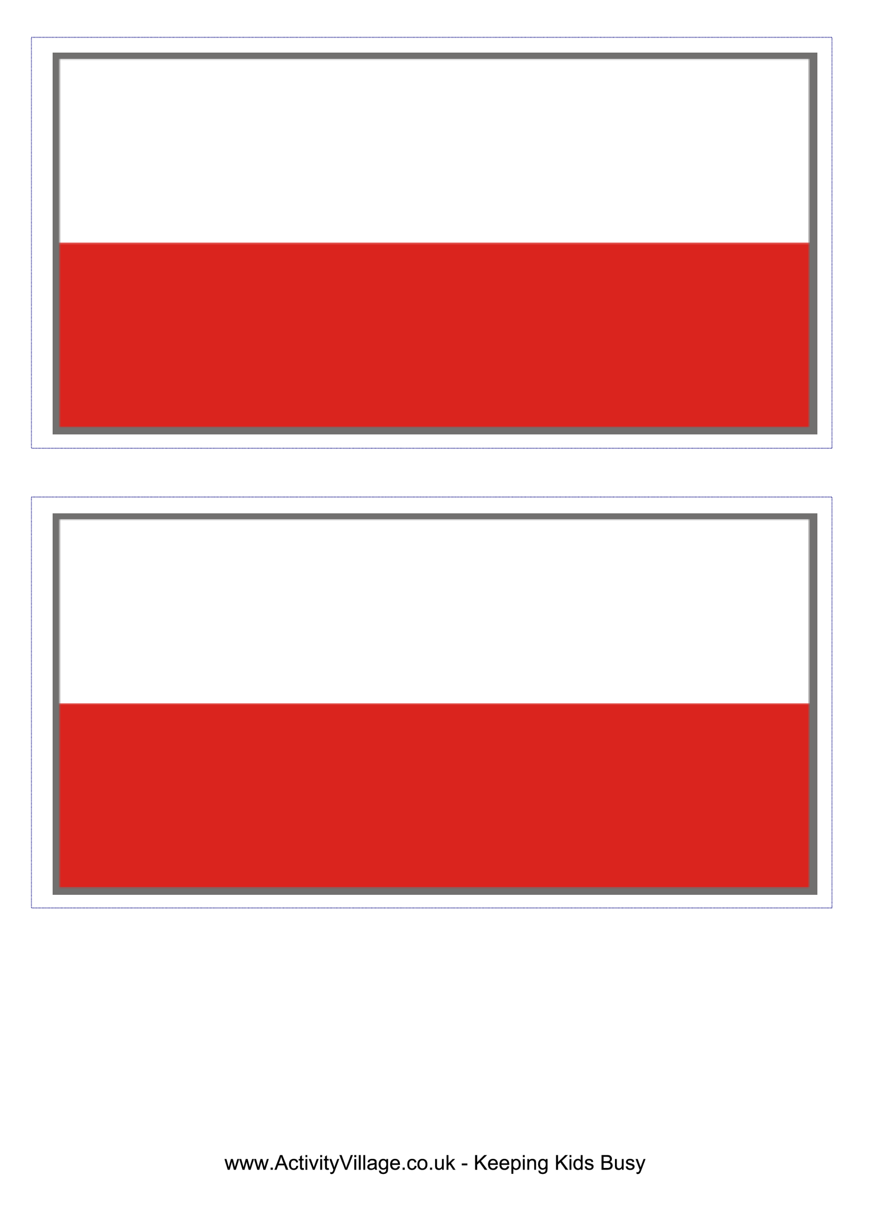 template preview imagePoland Flag