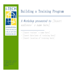 template topic preview image Training Program Action Plan