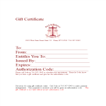 template topic preview image Gift Certificate in Word