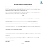 template topic preview image Arbitration Agreement
