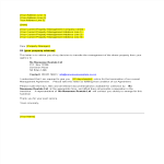 template topic preview image Management Company Termination Letter