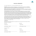 template topic preview image Release Agreement Template