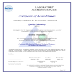 template topic preview image Laboratory Quality Management Certificate
