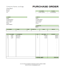 template topic preview image Purchase Order Excel