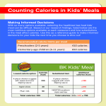 template topic preview image Fast Food Calorie Chart