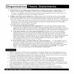 template topic preview image Organization Thesis Statement