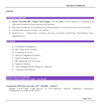 template topic preview image Senior Corporate Hr Resume