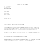 template topic preview image Nursing Cover Letter