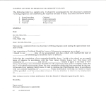 template topic preview image Formal Maternity Leave Letter