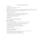 template topic preview image Software Engineering Internship Resume sample