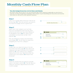template topic preview image Monthly Cash Flow Chart