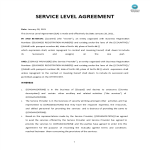 template topic preview image Service Level Agreement template