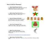 template topic preview image Christmas Tree Craft
