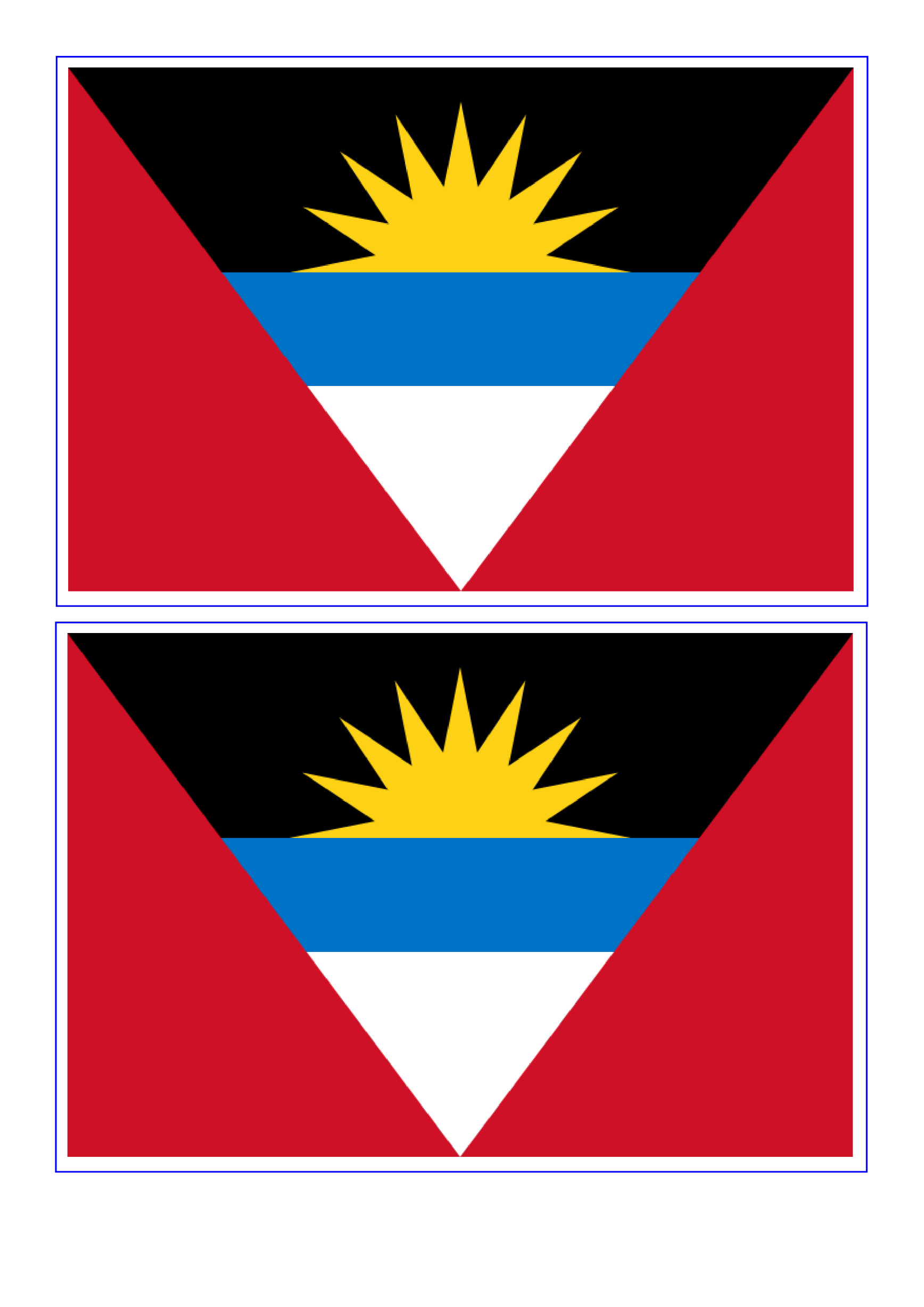 template topic preview image Antigua And Barbuda Flag