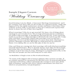 template topic preview image Easy To Print Wedding Cermony