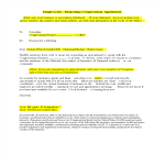 template topic preview image Customer Meeting Appointment Letter