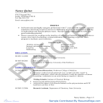 template topic preview image Grad School Resume - MBA Before