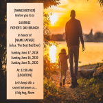 template topic preview image Father-day Event Invitation template