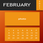 template topic preview image Calendar 2021 PPT template