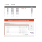 template topic preview image Multiple project spreadsheet templates for tracking