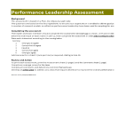 template topic preview image Performance Leadership Tool