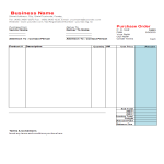 template topic preview image Purchase Order worksheet