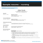 template topic preview image Student Nurse Curriculum Vitae