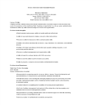 template topic preview image Senior Administrative Assistant Resume