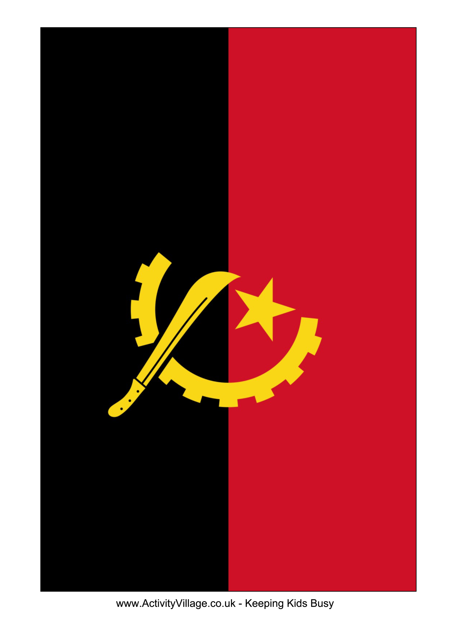 template topic preview image Angola Flag